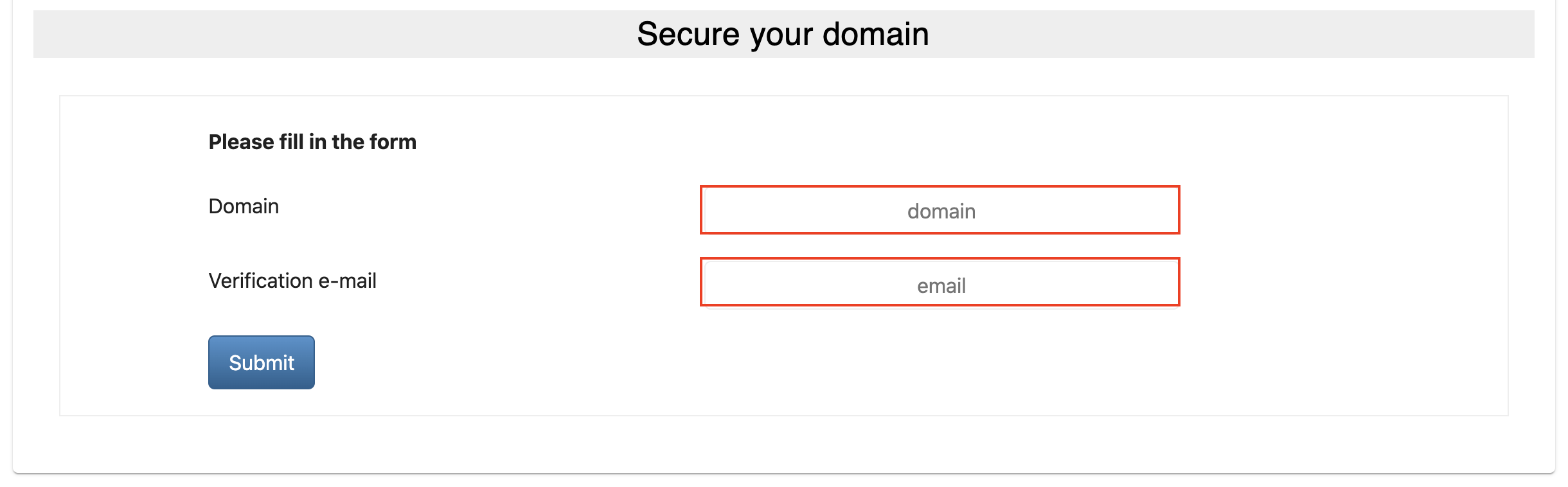 aws infrastructure manager secure domain