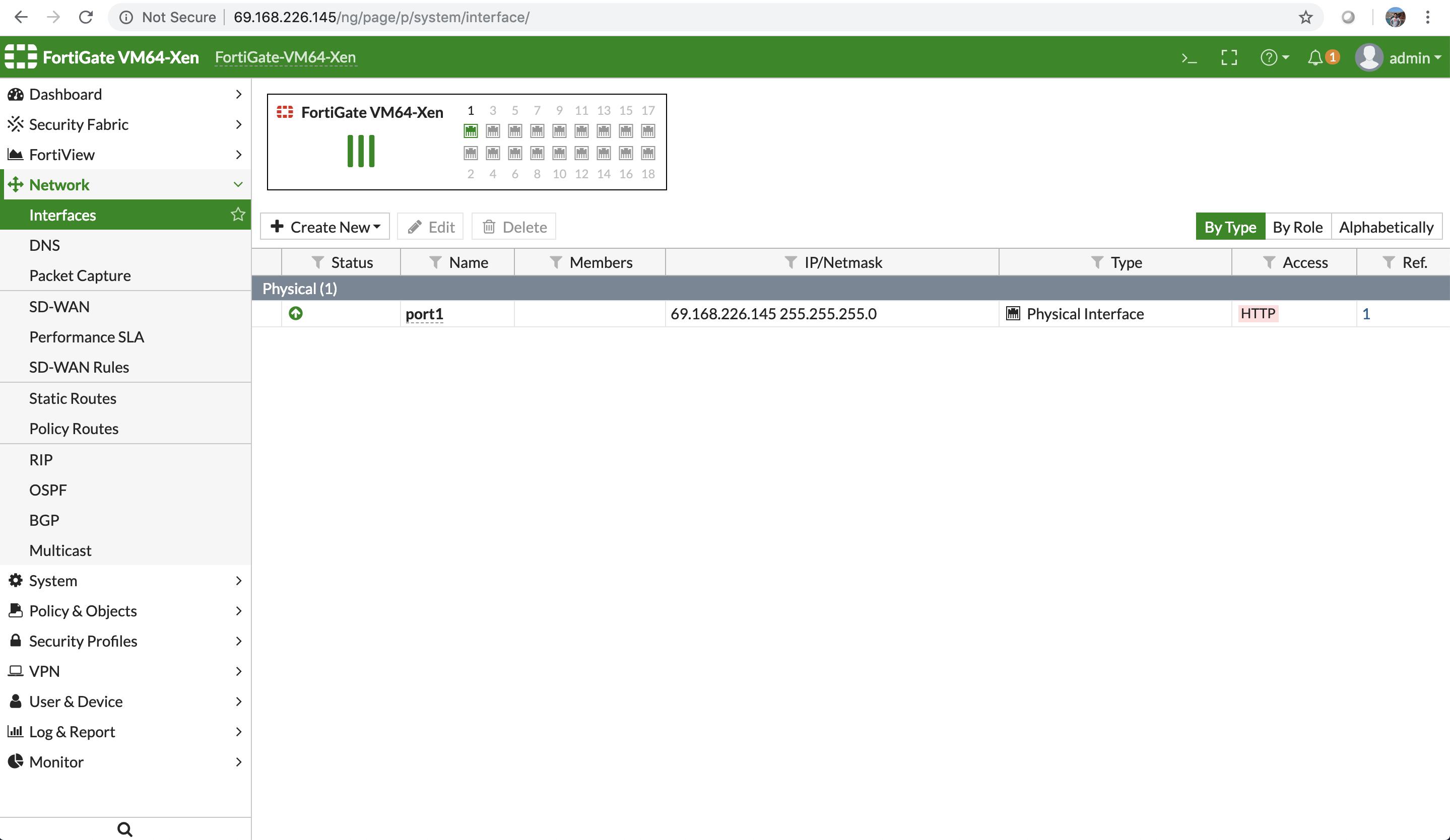 FortiGate Firewall - Sunlight Enterprise Platform